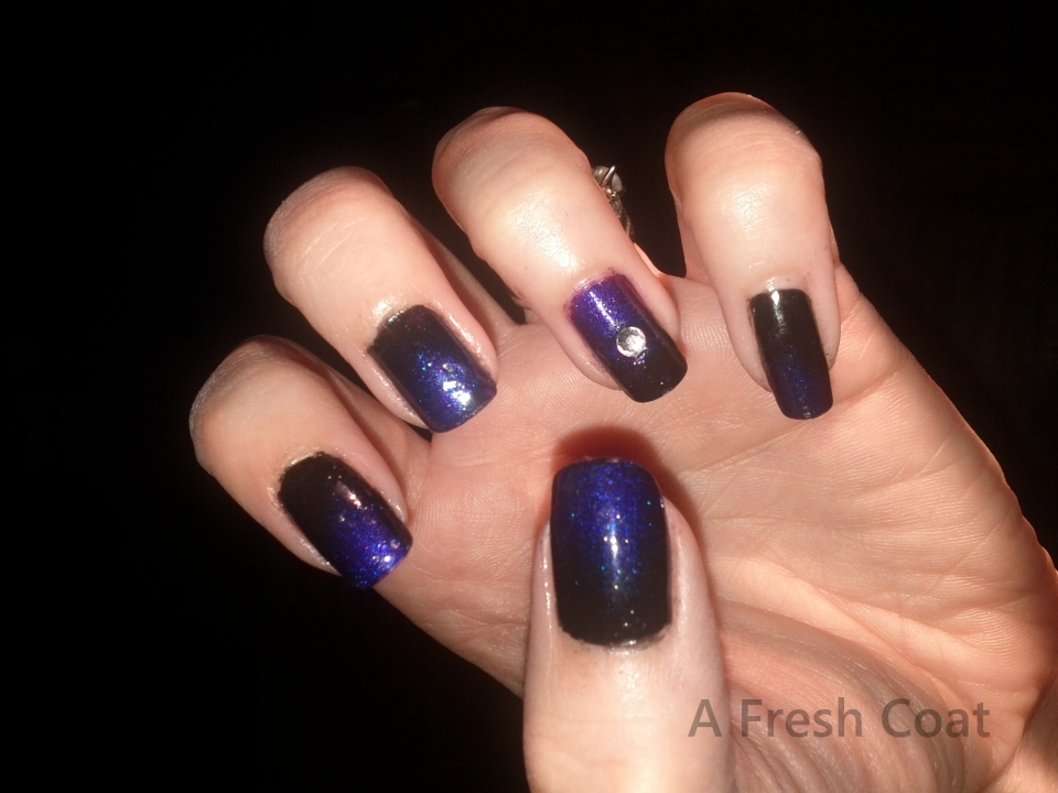 Purple Black Gradient