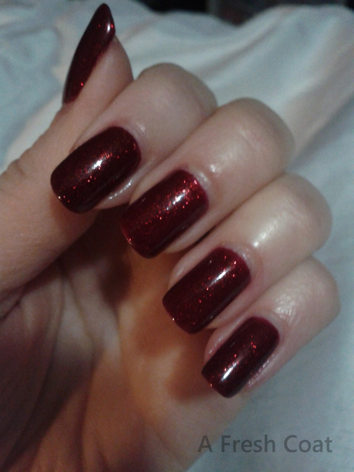 China Glaze Ruby Pumps Dark
