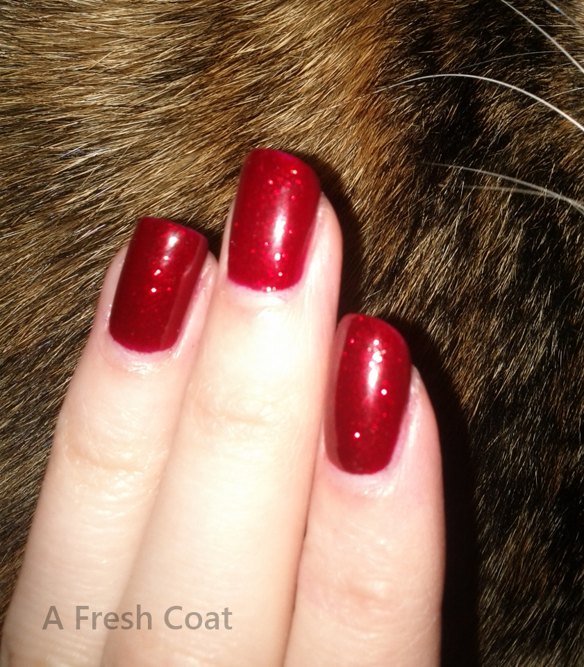 China Glaze Ruby Pumps close