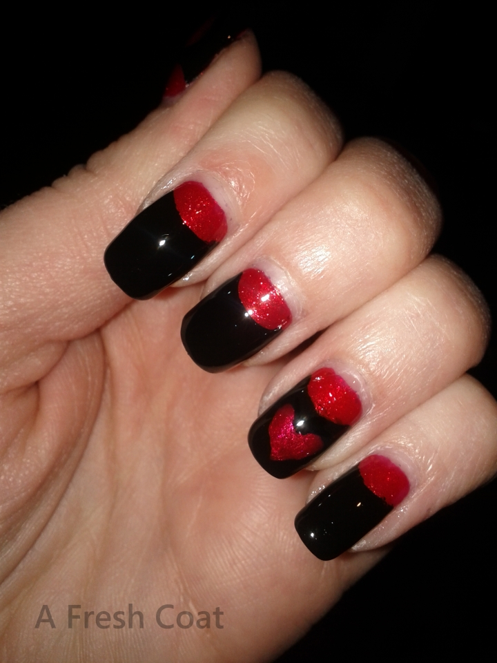 Elegant Valentine's Evening Nails 3