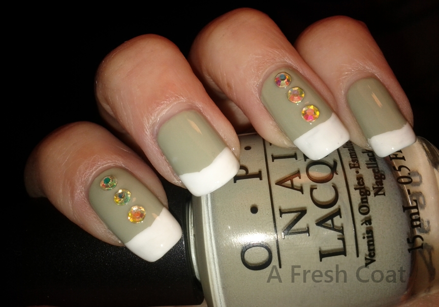 Irish French Manicure
