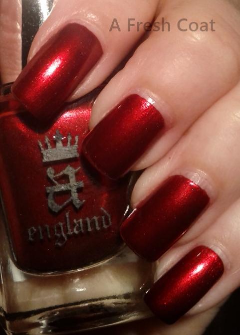 A England Perceval close up