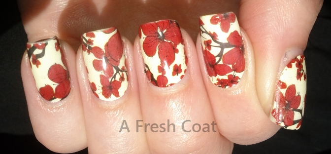 China Glaze Real Nail Polish Appliques Cherry Blossoms 2