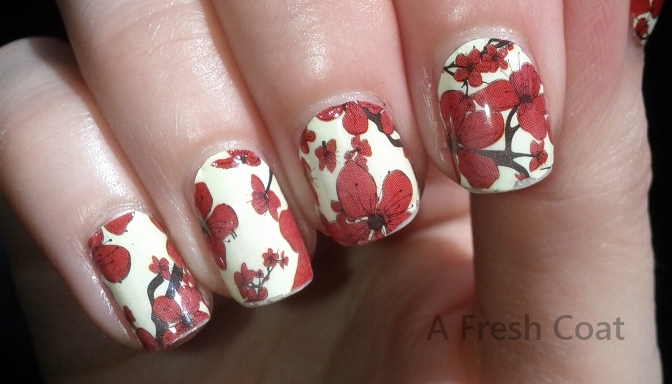 China Glaze Appliques chipping