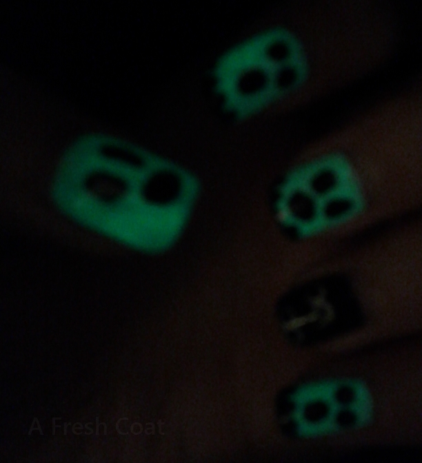 Glowing Ghosts 3