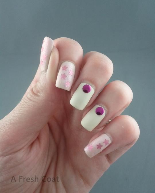 Matte Pink Shimmer 4