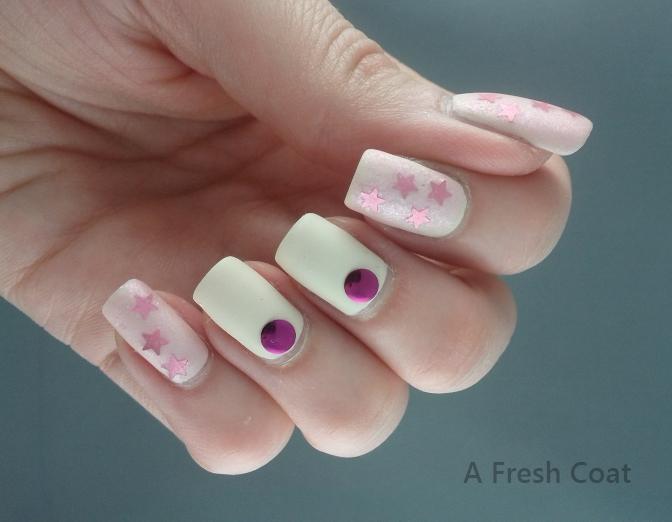 Matte Pink Shimmer 3